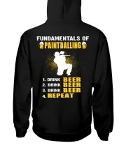 FUNDAMENTALS OF PAINTBALLING Hooded Sweatshirt thumbnail