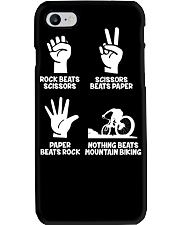 MOUNTAIN BIKING R-O-C-K P-A-P-E-R NOTHING BEATS  Phone Case thumbnail