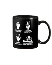 MOUNTAIN BIKING R-O-C-K P-A-P-E-R NOTHING BEATS  Mug thumbnail