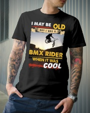 AWESOME BMX RIDER Classic T-Shirt lifestyle-mens-crewneck-front-6