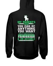 SO I BECAME A PAINTBALLER AND AN A-S-S-H-O-L-E Hooded Sweatshirt thumbnail