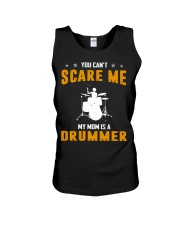 YOU CAN'T SCARE ME MY MOM IS A DRUMMER Unisex Tank thumbnail