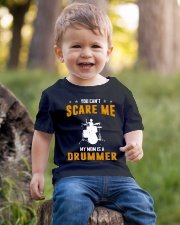 YOU CAN'T SCARE ME MY MOM IS A DRUMMER Youth T-Shirt lifestyle-youth-tshirt-front-4