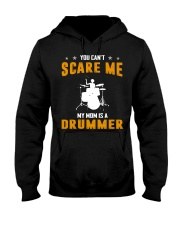YOU CAN'T SCARE ME MY MOM IS A DRUMMER Hooded Sweatshirt thumbnail