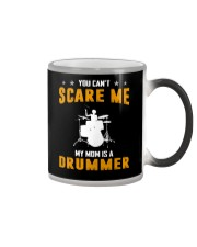 YOU CAN'T SCARE ME MY MOM IS A DRUMMER Color Changing Mug thumbnail