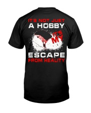 Escape From Reality Skydiving Classic T-Shirt back