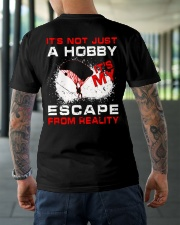 Escape From Reality Skydiving Classic T-Shirt lifestyle-mens-crewneck-back-3