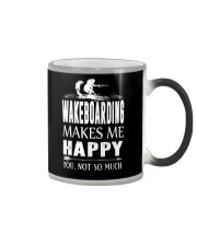 WAKEBOARDING MAKES ME HAPPY - YOU NOT SO MUCH Color Changing Mug thumbnail