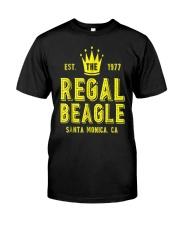 The Regal Beagle T-Shirt Funny Beagle Classic T-Shirt front