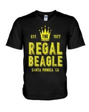 The Regal Beagle T-Shirt Funny Beagle V-Neck T-Shirt thumbnail
