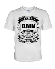 Its a DAIN thing funny gift T-Shirt V-Neck T-Shirt tile