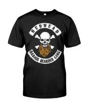 REDHEAD BADASS BEARDED GANG T SHIRT HOODIES Classic T-Shirt thumbnail