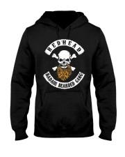 REDHEAD BADASS BEARDED GANG T SHIRT HOODIES Hooded Sweatshirt front