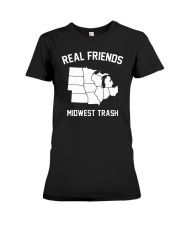 Real Friends Midwest Trash T Shirt Hoodie Premium Fit Ladies Tee thumbnail