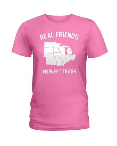 Real Friends Midwest Trash T Shirt Hoodie