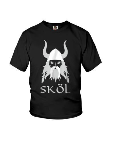 Skol Nordic Scandinavian Viking Warrior Helmet