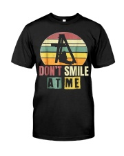 Love Billie Don't Smile at Me T-Shirts Hoodie Classic T-Shirt front