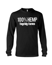 Tegridy Farms 100 HEMP T Shirt Hoodie Long Sleeve Tee front