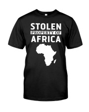 Stolen Property Of Africa T Shirts and Hoodie Classic T-Shirt front