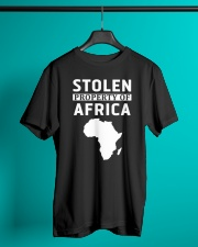 Stolen Property Of Africa T Shirts and Hoodie Classic T-Shirt lifestyle-mens-crewneck-front-3