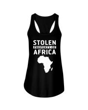 Stolen Property Of Africa T Shirts and Hoodie Ladies Flowy Tank thumbnail