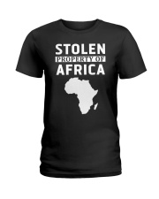 Stolen Property Of Africa T Shirts and Hoodie Ladies T-Shirt thumbnail
