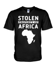 Stolen Property Of Africa T Shirts and Hoodie V-Neck T-Shirt thumbnail
