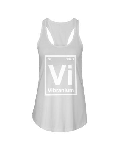 Periodic Element Vibranium Metal Graphic T Shirts
