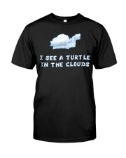 I See a Turtle in the Clouds T-Shirts Hoodie Classic T-Shirt front