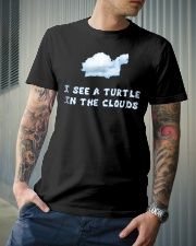 I See a Turtle in the Clouds T-Shirts Hoodie Classic T-Shirt lifestyle-mens-crewneck-front-6
