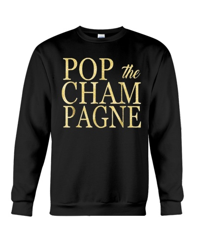 Pop the Champagne T-Shirts Hoodie
