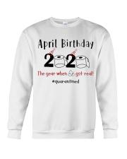 April Birthday Crewneck Sweatshirt thumbnail