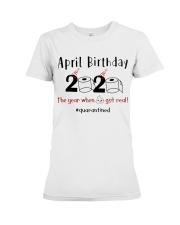 April Birthday Premium Fit Ladies Tee thumbnail