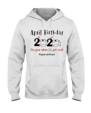 April Birthday Hooded Sweatshirt thumbnail