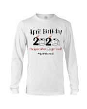 April Birthday Long Sleeve Tee thumbnail