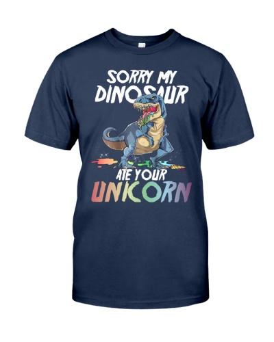 Sorry my dinosaur-Ate your unicorn