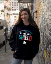 Get this girl a Shield Hooded Sweatshirt lifestyle-unisex-hoodie-front-1
