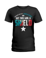 Get this girl a Shield Ladies T-Shirt thumbnail