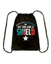 Get this girl a Shield Drawstring Bag thumbnail