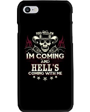 Hell's coming with me - Back side Phone Case thumbnail