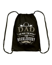 DAD - The Man The Myth The HUCKLEBERRY Drawstring Bag tile