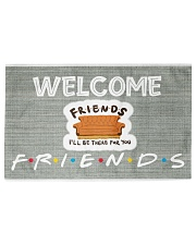 FRIENDS Woven Rug - 6' x 4' front