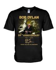Bob Dylan V-Neck T-Shirt thumbnail