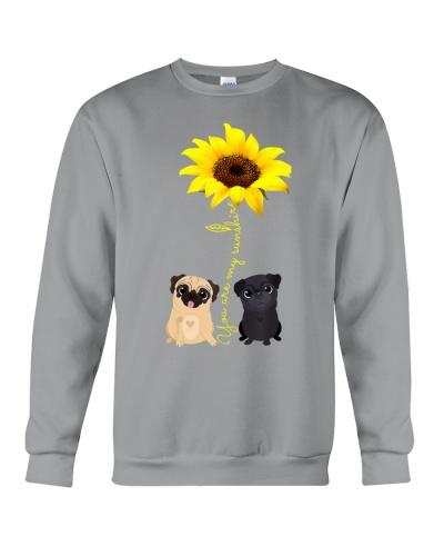 You Are My Sunshine Sunflower Pug