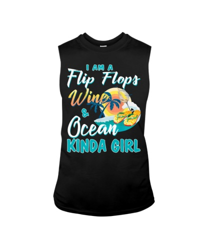 I'm A Flip Flops Wine Ocean Kinda Girl