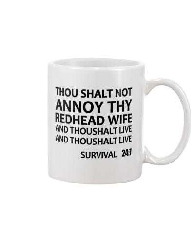 THOU SHALT NOT ANNOT THY REDHEAD WIFE