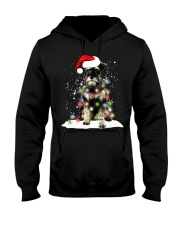 Schnauzer Christmas Hooded Sweatshirt tile