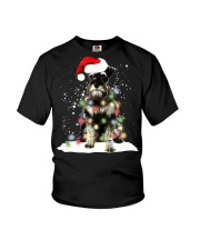 Schnauzer Christmas Youth T-Shirt tile