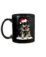 Schnauzer Christmas Mug back