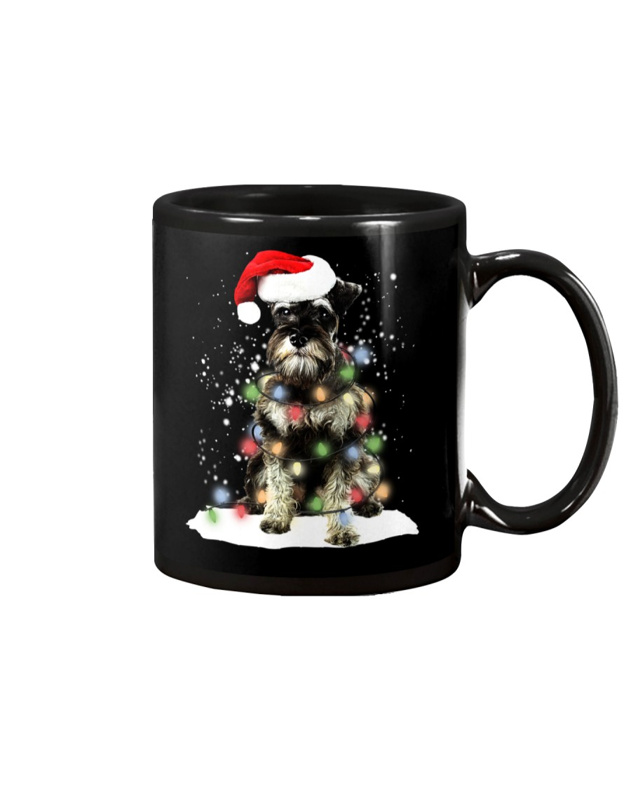 Schnauzer Christmas Mug